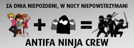 Antifa ninja crew